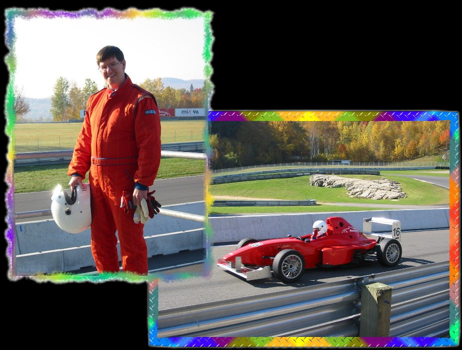 Stan_McLean Jim Russel Driving School Tremblant Quebec